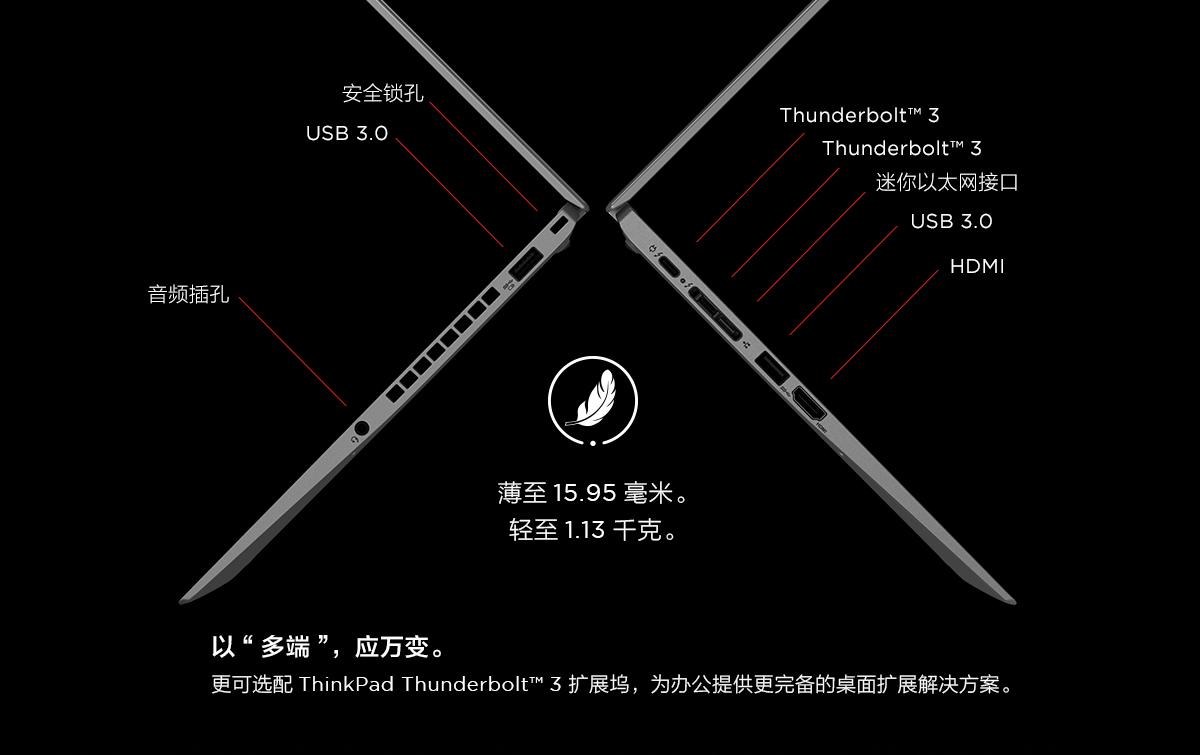 Thinkpad X1 Carbon 2018 钛灰版